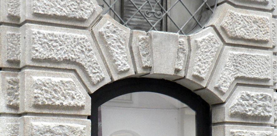 Sanierung Rusticafassade